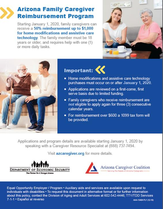 AZ Family Caregiver Reimbursement Program